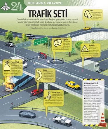 Trafik Seti infografik